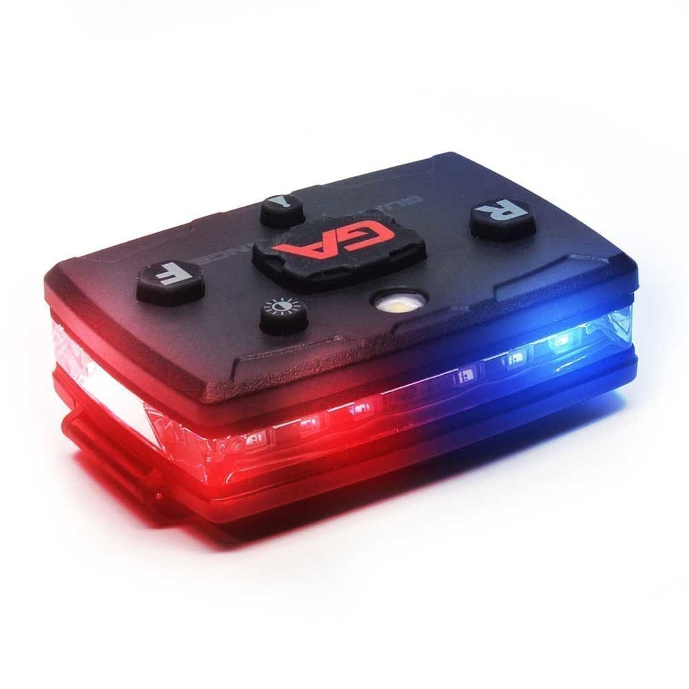 wearable police light bar